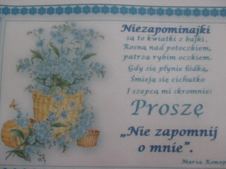 święto Polskiej Niezapominajki Zespół Szkolno